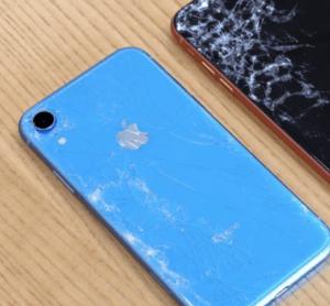 damaged iPhone xr screen repair brisbane