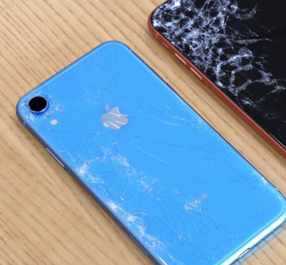 damaged iPhone xr screen repair brisbane